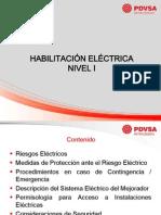 Charla Habilitación Electrica