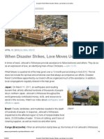 Disaster Relief_ When Disaster Strikes, Love Moves Us to Action