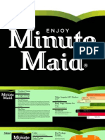 Pitch Book Minute Maid Juice Box Flat Package Design