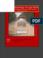 Fracking  Health Report - Australia