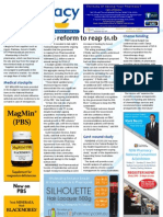 Pharmacy Daily for Wed 15 May 2013 - Budget measures, wound study, guilty pharmacist, diabetes, new products and much more