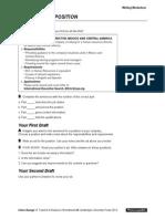 Interchange4thEd Level3 Unit02 Writing Worksheet