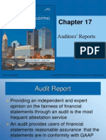 Principals of Auditing Ch 17 Powerpoint