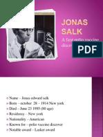 Jonas Salk Ppt