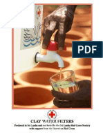 Clay Water Filter Red Cross