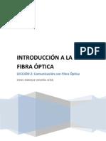 Fibra óptica Lección2
