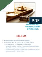 RESPONSABILIDAD DE LOS FUNCIONARIOS PÚBLICOS