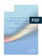 WASSILY KANDINSKY Y LA MÚSICA VISUAL