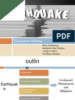 Geohazard Earthquake