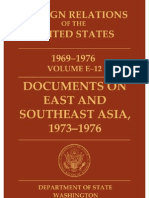 Documents on East and Southeast Asia, 1973-76