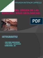 Teoria Del Origen de La Especies - OrIGINAL