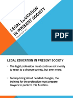 Legal Profession Presentation