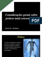 1 Considerações sobre Protese Dentaria  - meios de retenção em PT 2010
