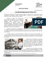 03/04/11 Germán Tenorio Vasconcelos la Salud Es Responsabilidad de Todos, Gtv