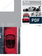 Audi Miniatures Catalogue (English, 2013)