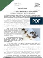 10/04/11 Germán Tenorio Vasconcelos Exhorta SSO Realizar Acciones de Saneamiento en Viviendas Para Evitar Picaduras de Al_0