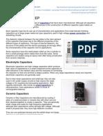 Capacitor Types EEP