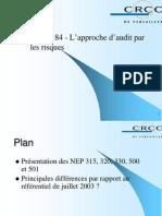 Page 1 1 Atelier 84 - L'approche d'audit par les risques