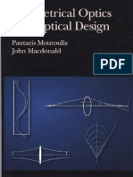 Geometrical Optics and Optical Design