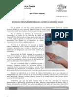 18/04/11 Germán Tenorio Vasconcelos necesario Prevenir Enfermedades Diarreicas Desde El Hogar