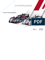 Audi Sports Prototypes Booklet (English, 2012)