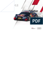 Audi DTM Booklet (English, 2012)
