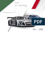 Audi Sport customer racing Booklet (English, 2012)