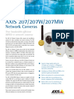 Axis 207 Datasheet