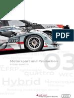 Motorsport & Production Magazine - e-tron quattro (English, 2012)
