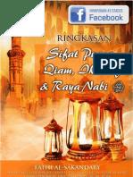 Sifat Puasa, Qiam, Iktikaf Dan Raya Nabi - Karya Fathi Al-Sakandary