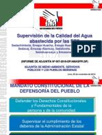 Presentacion Calidad Del Agua Abastecida Por EPS - 24-11-10_8QU