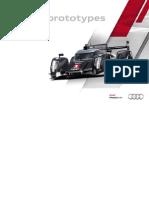 Audi Sport Prototypes Booklet (English, 2011)