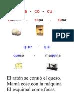 FICHA 10 CA Co Cu, Que Qui