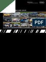 Audi Booklet R8 LMS (English, 2010)