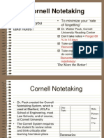 Cornell Notes Powerpoint[1]