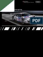 Audi Sport customer racing Booklet (English, 2009)