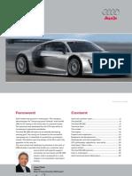 Audi Sport customer racing Brochure (2009, English)