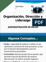 04. Organizacion, Direccion y Liderazgo