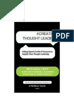 #CREATING THOUGHT LEADERS tweet Book01