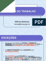 5ª AULA - EXCEÇÕES E CONTESTAÇÃO