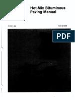 Hot Mix Bituminius Paving Manual 014716