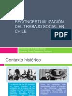 La reconceptualización del trabajo social en chile