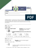EJERCITARIO de 3 Primaria II Bimestre Revisado 2012