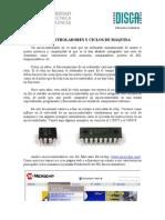 MICROCONTROLADORES Y CICLOS DE MÁQUINA