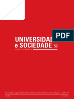 Revista Universidade e Sociedade n° 50