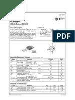 FQP6N60