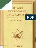 DELEUZE-Spinoza, el problema de la expresión