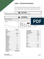 MAH2400a Tech and Tshooting Manual