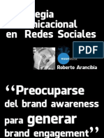 Estrategia Comunicacional en Redes Sociales