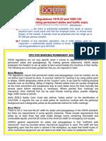 OSHA Aisle Marking Tips